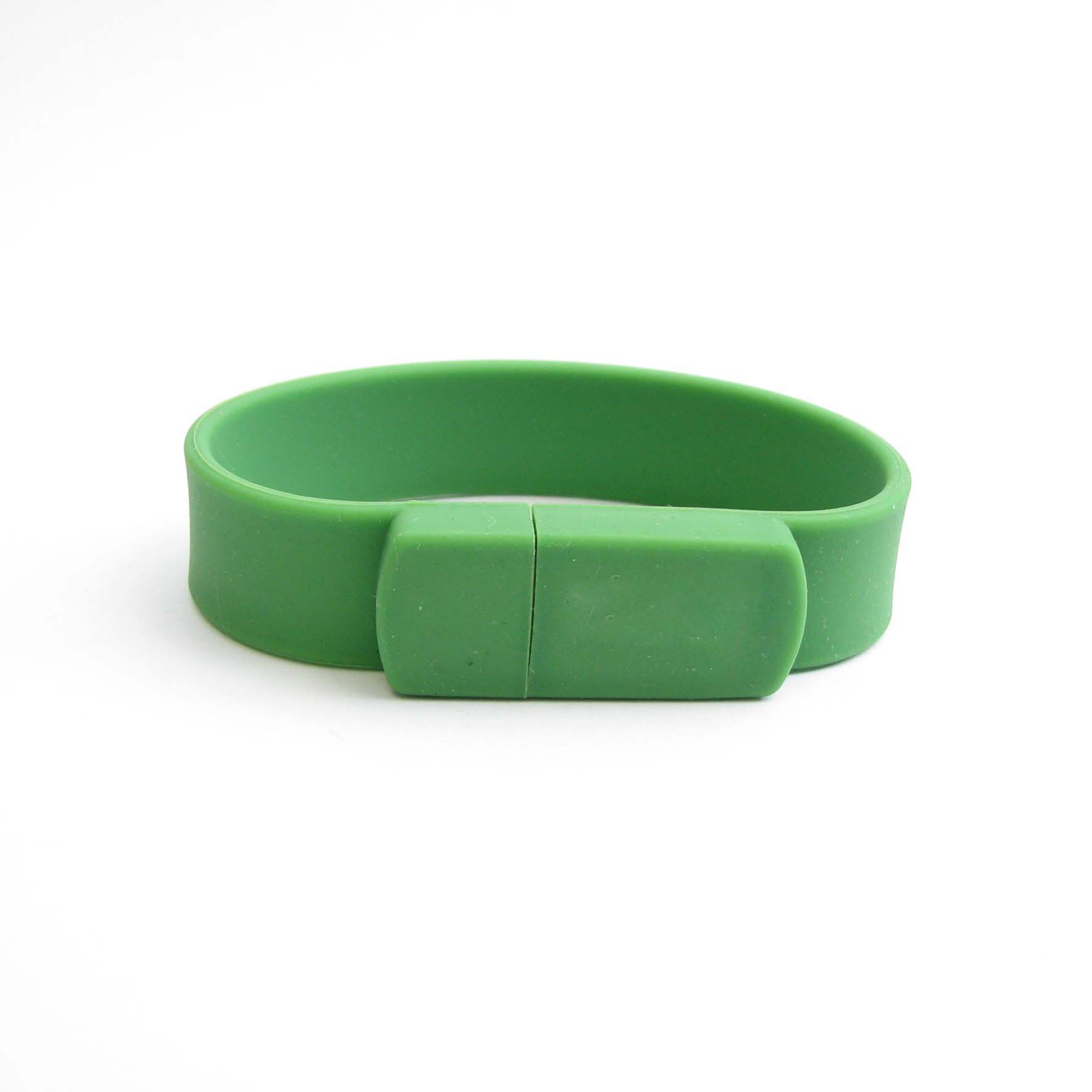 Silicone Bracelet 8GB USB Flash Memory Stick Wrist Pen Drive